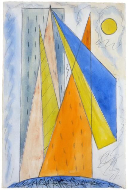 , 'Untitled (New York Abstraction),' 1910, Hollis Taggart Galleries