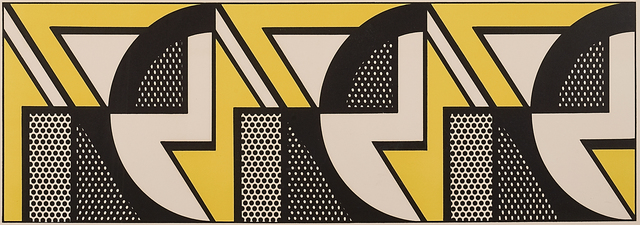 Roy Lichtenstein, 'Repeated Design', 1969, Rago