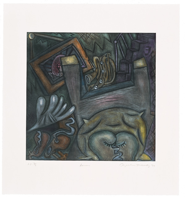 Elizabeth Murray, 'Lovers', 1996, Universal Limited Art Editions