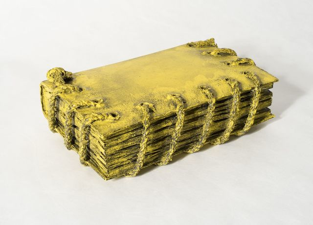 , 'Untitled (Yellow Book with Rope),' 1972-1974, Allan Stone Projects