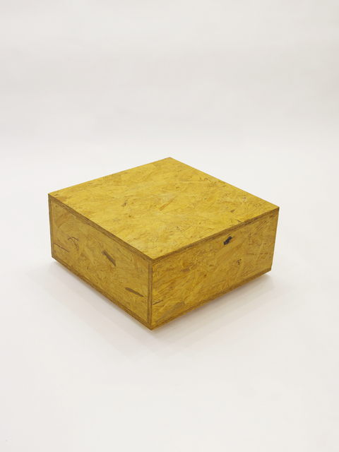 RO/LU, 'Cube Table OSB', 2010, Patrick Parrish Gallery