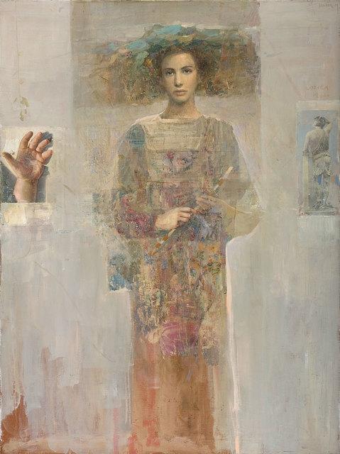 , 'Flora with Flowers,' 2001, Albemarle Gallery | Pontone Gallery