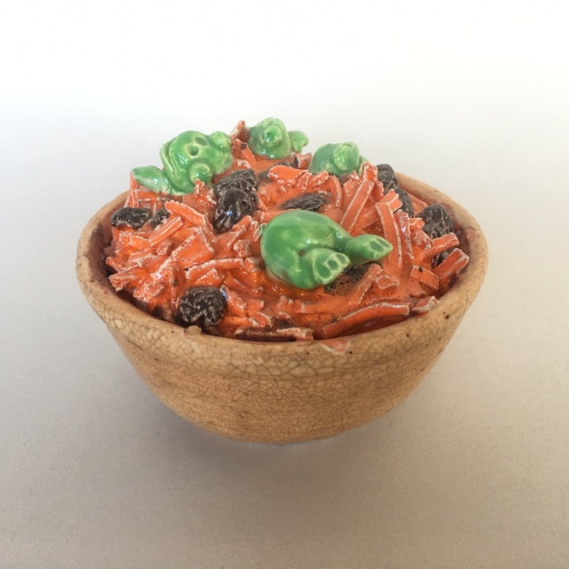 David Gilhooly, 'Frog Carrot Salad', 1989, Beatrice Wood Center for the Arts