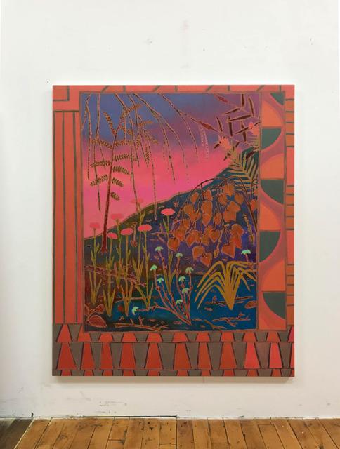 , 'if sunsets sought,' 2017, Wentrup