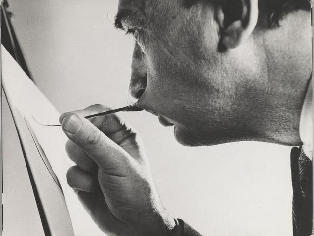 , 'Dali's Moustache,' 1954, °CLAIR Galerie