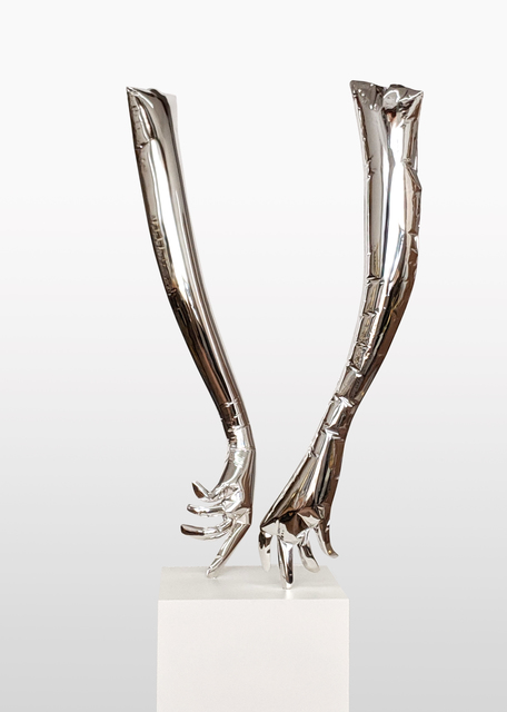 , 'The Dancers Silver (1),' 2018, CURRO