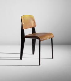 Semi-metal chair, model no. 306