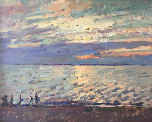 , 'Sunset Long Beach,' 2017, Grenning Gallery