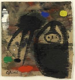 , 'Femme et oiseau sous la lune,' 1977, Opera Gallery