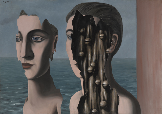 , 'The Secret Double (Le Double secret),' 1927, Art Institute of Chicago