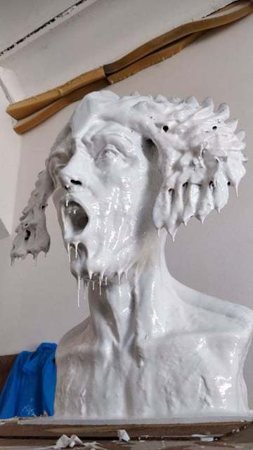 Biljana Petrovic, 'NEPHILIM PRINCE', 2020, Sculpture, Mold ready to be casted in bronze on request, GALERIE BENJAMIN ECK