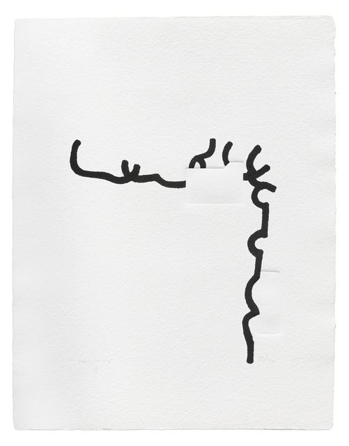 Eduardo Chillida, 'Hommage à Johann Sebastian Bach X', 1997, Zeit Contemporary Art