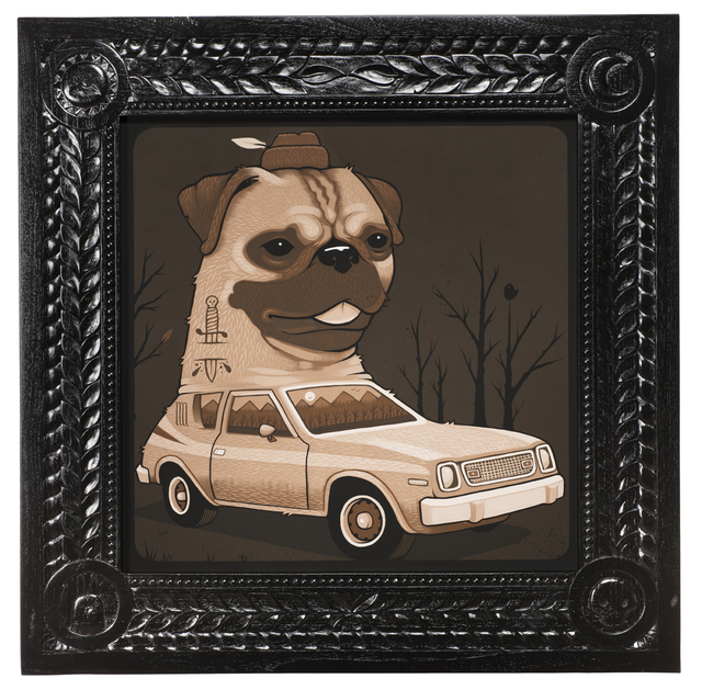 , '1974 AMC Pug Gremlin,' 2017, Jonathan LeVine Projects