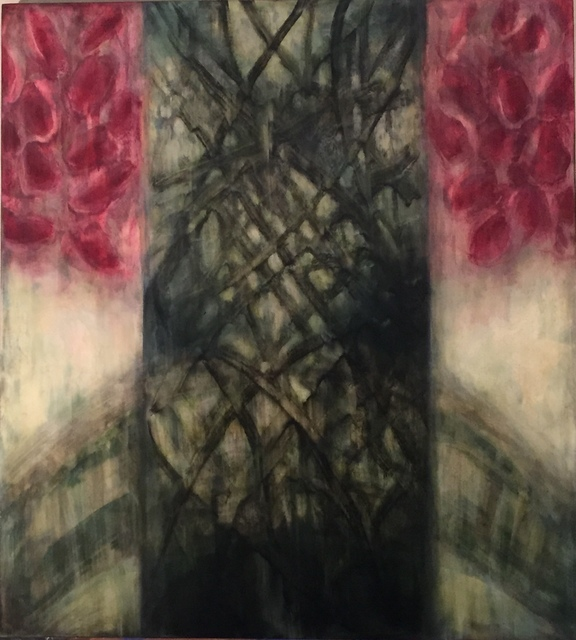 Susan Breen, 'For Those In Need of Courage', 2008, Painting, Oil on wood, Woodward Gallery