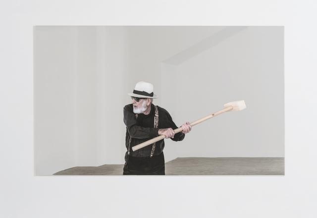 , 'Rottura dello specchio – azione 4,' 2017, GALLERIA CONTINUA