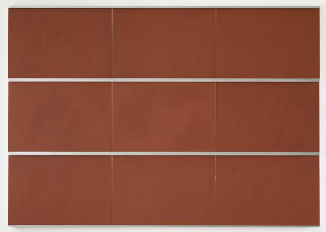 Imi Knoebel, 'Tafel DCCCXLVII', 2014, Jahn und Jahn