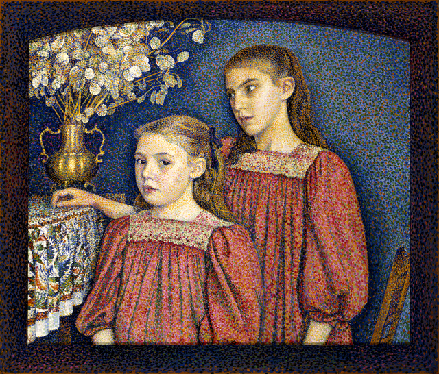 , 'The Two Sisters or The Serruys Sisters,' 1894, Indianapolis Museum of Art at Newfields