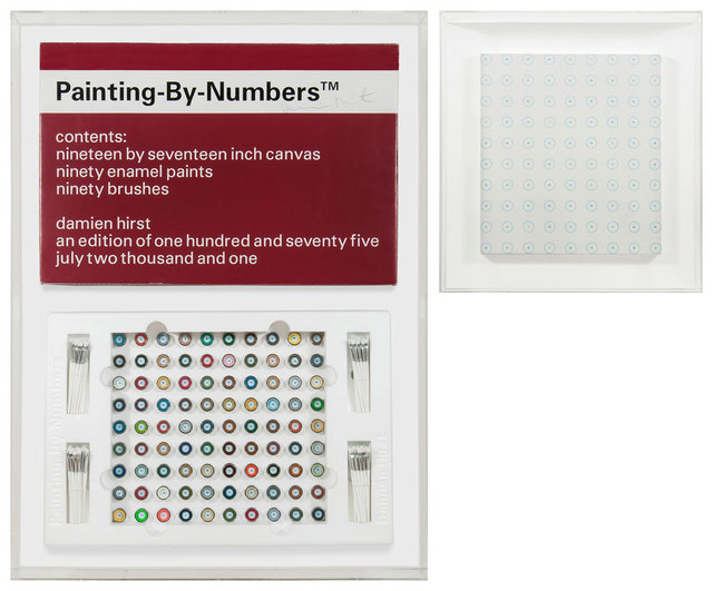 Damien Hirst, 'Painting by Numbers 2', 2001, Artificial Gallery