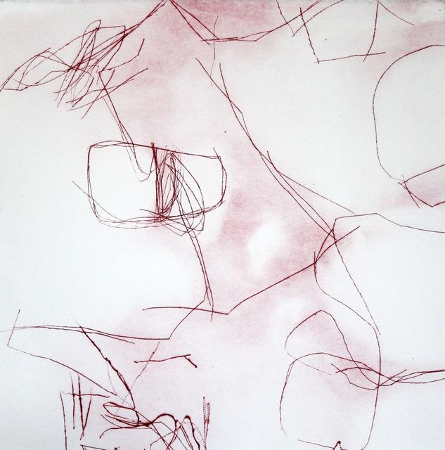 , 'Crimson Overgrowth V,' 2015, Paraphé