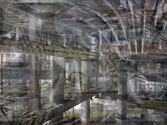 , 'W.T.C: Concrete Abstract #5,' 2011-2013, Julie M Toronto