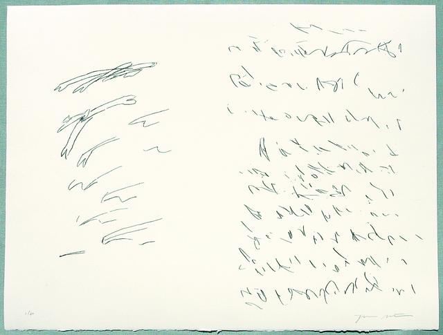 , 'Sapphic Strophes,' 2011, Arion Press