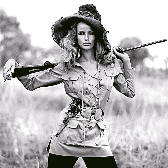 Franco Rubartelli, 'Veruschka, Safari dress by Yves Saint Laurent', 1968, Photography, Pigment Print on Baryta Paper, Ira Stehmann Fine Art Photography