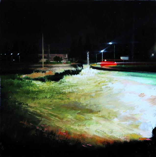 , 'Notte in campagna,' 2016, Galleria Punto Sull'Arte