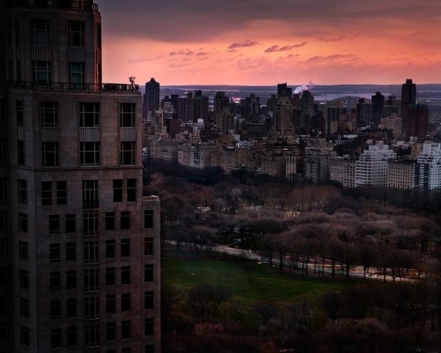 David Drebin, 'Girl over Central Park', 2012, Galerie de Bellefeuille