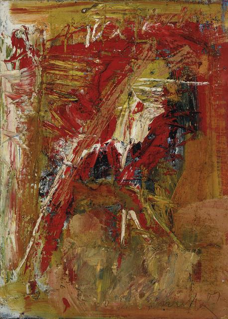 , 'Matéria III,' 1959, Pinakotheke