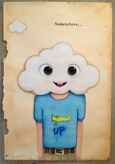 , 'UP,' 2016, Castor Gallery
