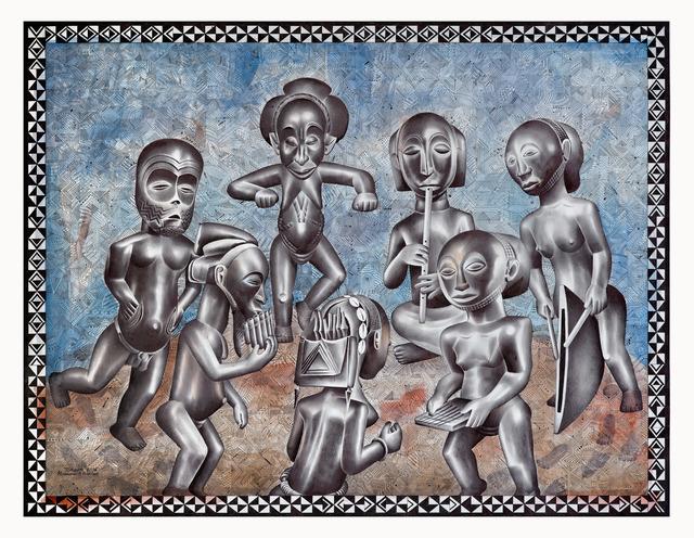 Tsham, 'La ronde festive', 2016, Africa Bomoko