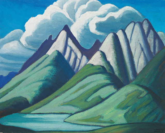 , 'Mountain Sketch VII,' 1928, Oeno Gallery