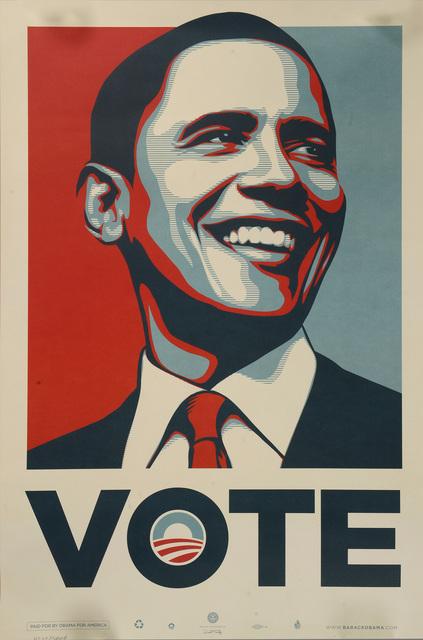 Shepard Fairey, 'Obama Vote', 2008, Samhart Gallery