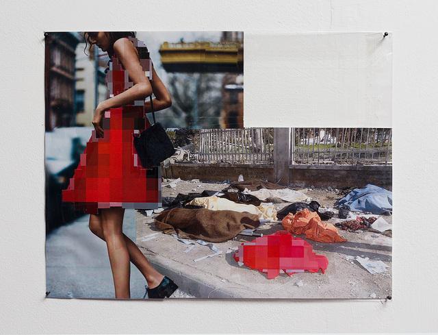 , 'Pixel-Collage nº50,' 2016, Dvir Gallery