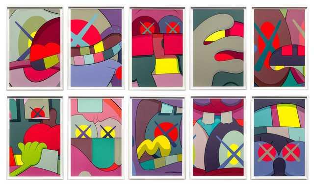 KAWS, 'UPS AND DOWNS', 2013, David Benrimon Fine Art