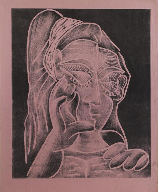 , 'Picasso 'Jacqueline Lisant, de Trois Quarts',' 1962, Frederick Mulder