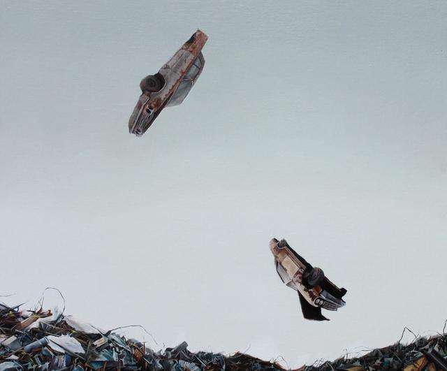 Moisés Jácome, 'La caída', 2017, Eme Espacio de Arte