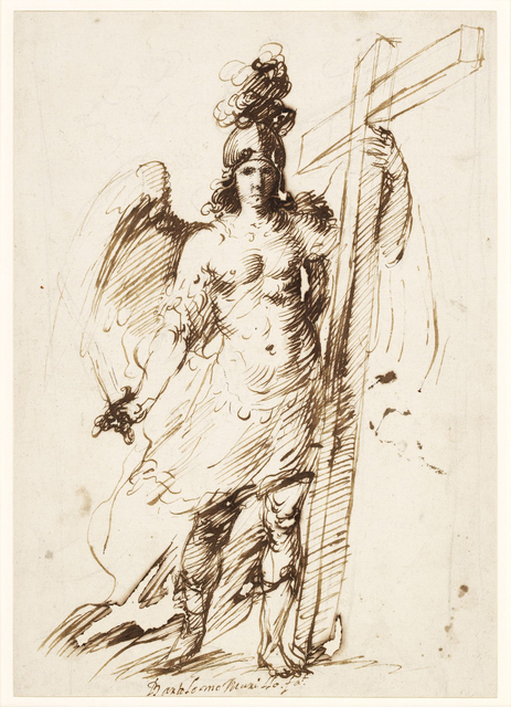, 'The Archangel Michael,' 1655-1660, British Museum