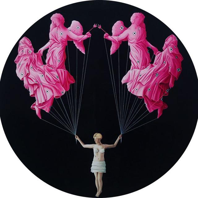 Xevi Vilaro, 'Ecstasy of Saint Teresa', 2017, Painting, Oil on plexiglass, Peimbert Art