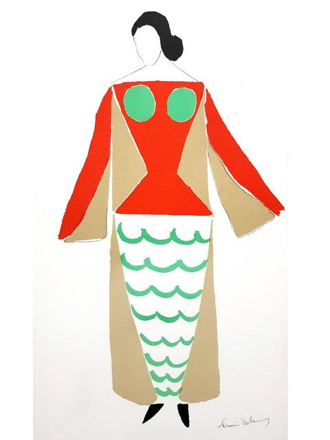 "Sonia Delaunay, 'Original Lithograph ""Le Cœur à gaz"" by Sonia Delaunay', 1977, Galerie Philia"