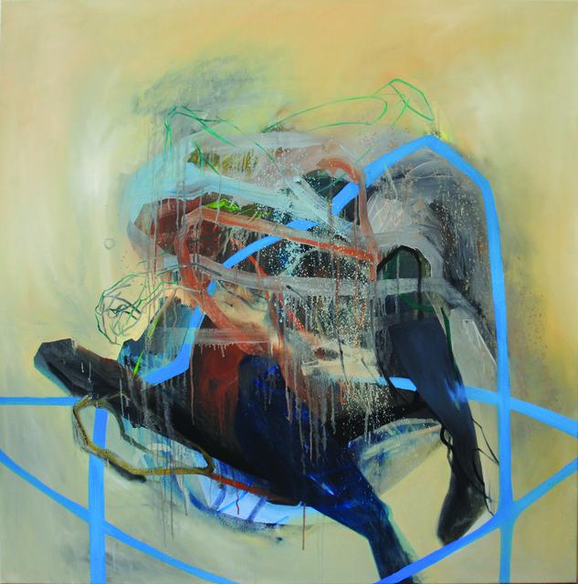 , 'Baroque 5,' 2017, BERLIN BLUE art