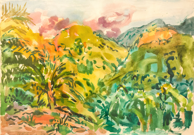 , 'Dry Season, Anse Galet Valley, St. Lucia,' 1965, Reynolds Gallery