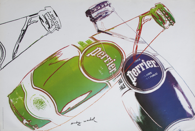 After Andy Warhol, 'Perrier,' 2013, Julien's Auctions: Street Art Now November 2016