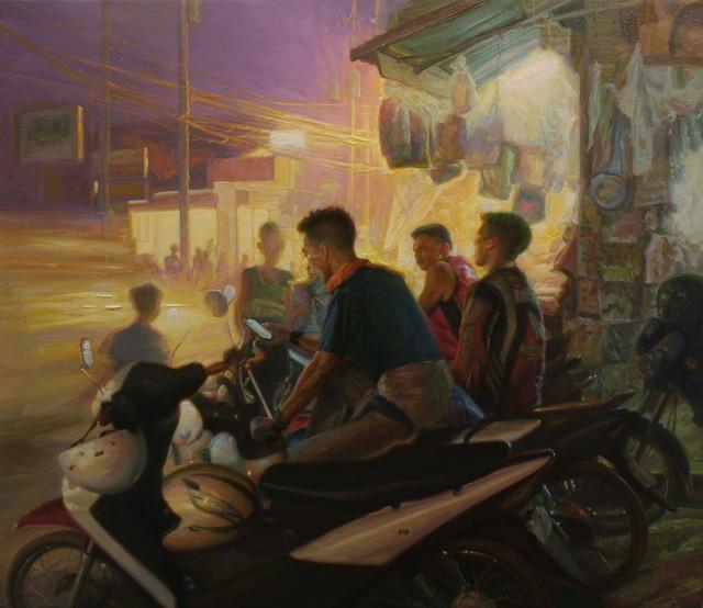 , 'The Night Riders,' 2016, Qube Gallery