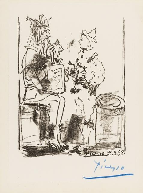 Pablo Picasso, 'Les Saltimbanques', 1958, Forum Auctions