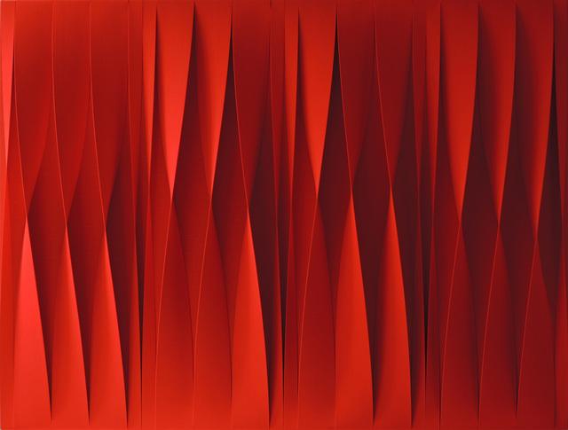 , 'Sincronicita Rossa Attiva,' 2015, UNIX Gallery