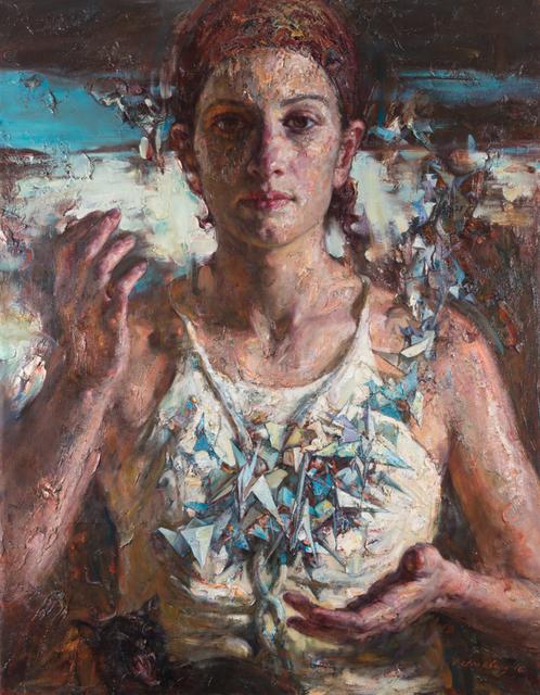 , 'The Blue Birds,' 2018, Odon Wagner Gallery