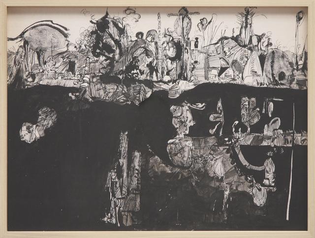 , 'Black Study 2,' 1966, David Richard Gallery