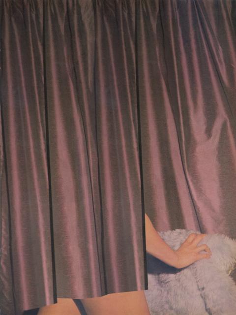 , 'Drape (Cavalcade V),' 2012, Raum mit Licht