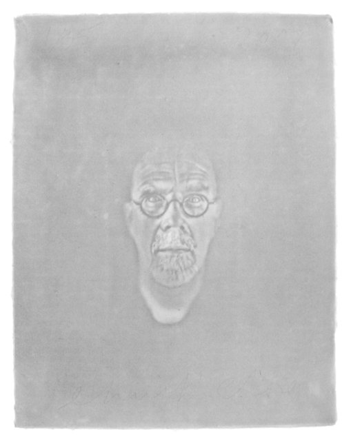 , 'Watermark Self-Portrait,' 2007, Childs Gallery